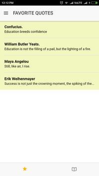 "Popular Quotes"" apk screenshot"