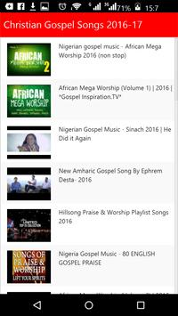 Christian Gospel Songs screenshot 3