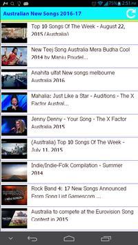 Australian New Songs 2016 screenshot 1