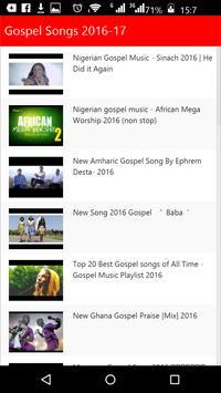 Gospel Songs screenshot 3