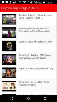 Guyana Top Songs poster