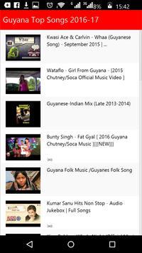 Guyana Top Songs screenshot 2