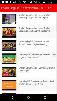 Learn English Conversation apk screenshot