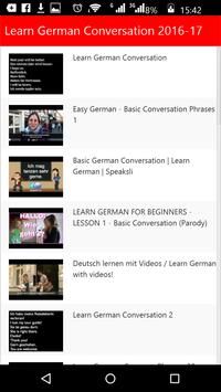 Learn German Conversation apk screenshot