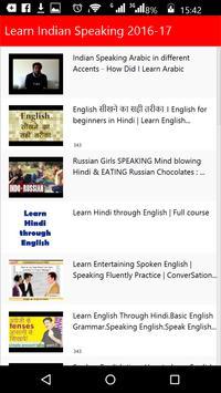 Learn Indian Speaking apk screenshot