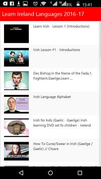 Learn Ireland Languages poster
