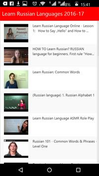 Learn Russian Languages poster