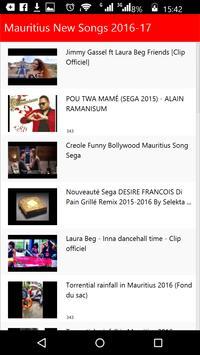 Mauritius New Songs apk screenshot