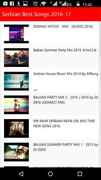 Serbian Best Songs apk screenshot