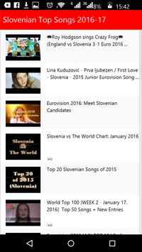 Slovenian Top Songs screenshot 1