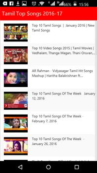 Tamil Top Songs poster