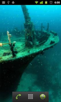 sunken ship live wallpaper apk screenshot