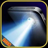 Flashlight App 2018: Tiny Flashlight+SOS icon