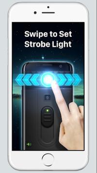 Flashlight App 2018: Tiny Flashlight+SOS screenshot 3