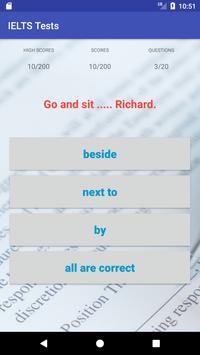 Basic IELTS Tests screenshot 1
