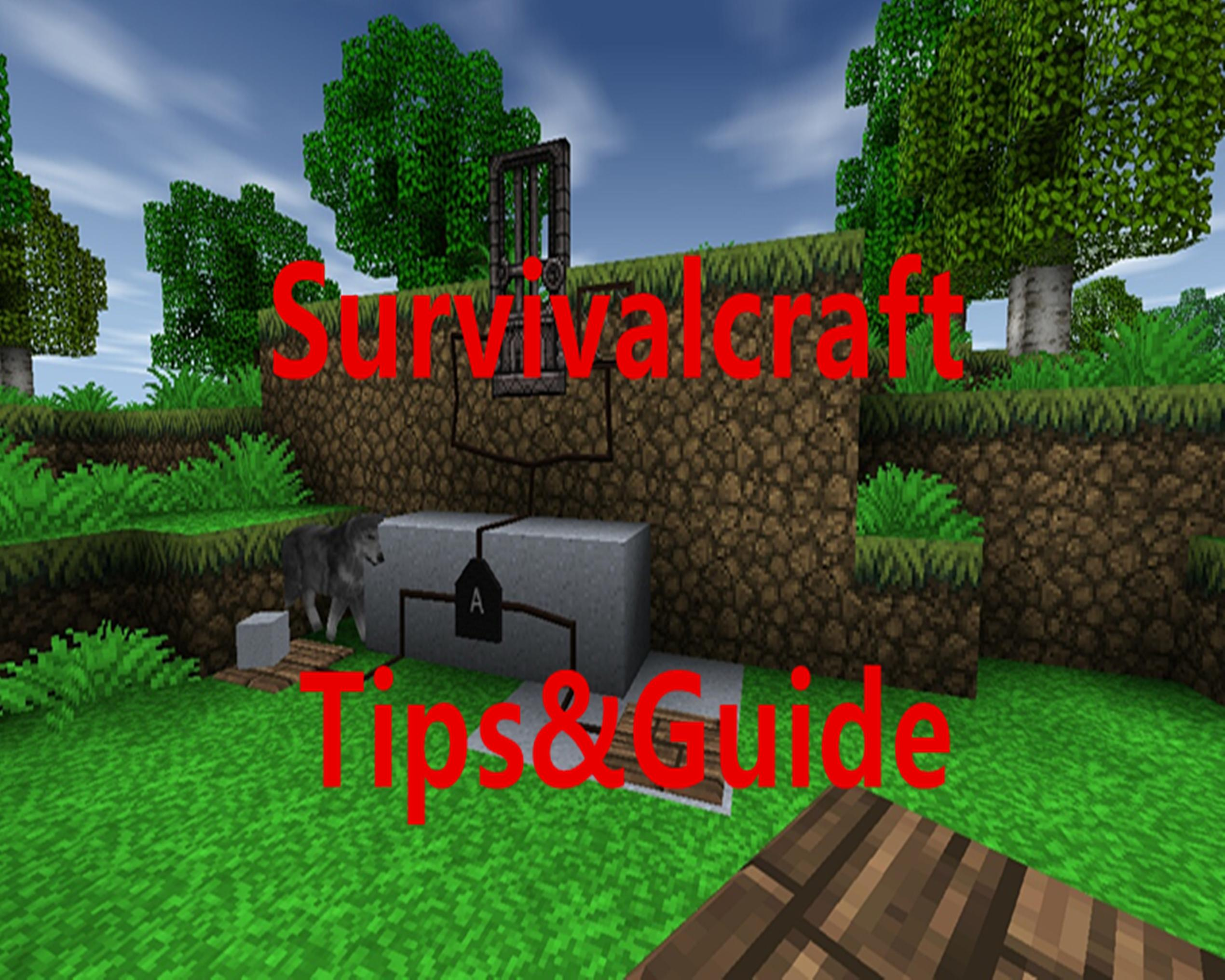 Tips for Survivalcraft Pro poster