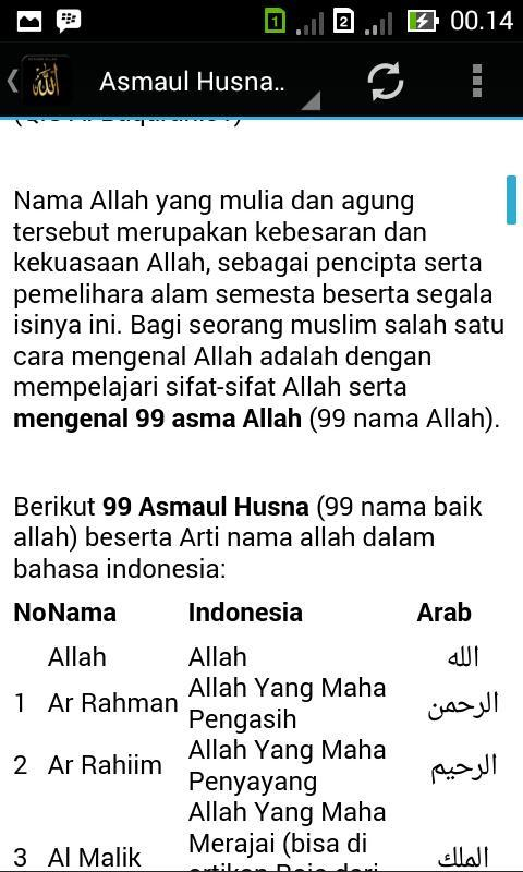 Asmaul Husna Audio Mp3 For Android Apk Download
