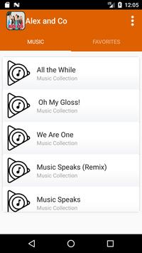 Alex & Co Songs screenshot 3