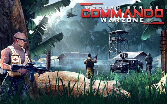 Modern Strike Commando Warzone poster