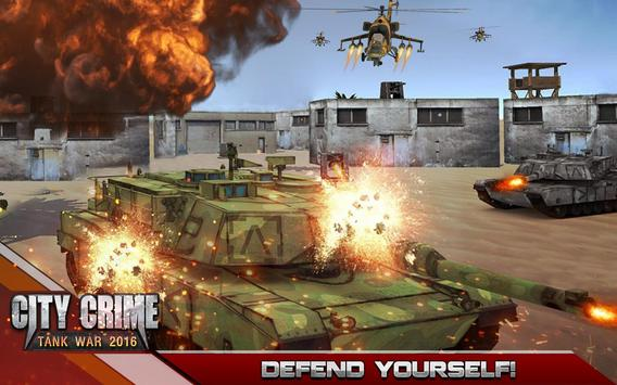 City Crime Tank Warrior 2016 apk screenshot
