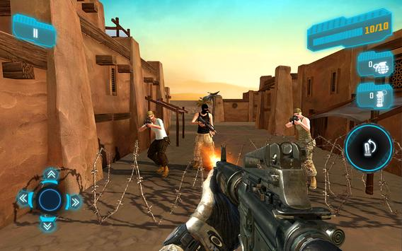Elite Military Modern War: Free Mobile FPS Shooter poster