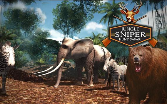 Jungle Sniper Hunt: Safari apk screenshot