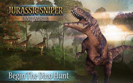 Jurassic Sniper: Dino World poster