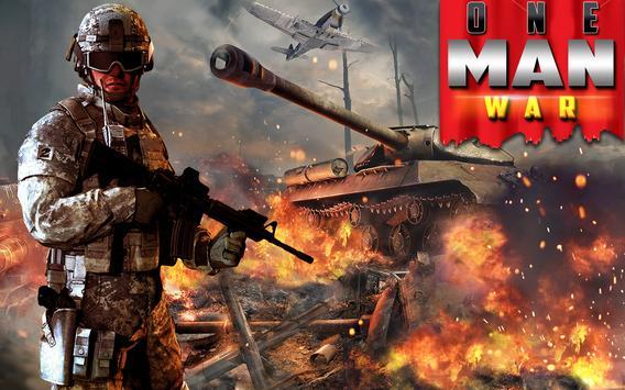 One Man War poster