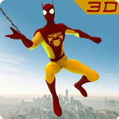 Menginstal Game android Legend of Spider 3D Hero City - Hero City Fighter APK gratis