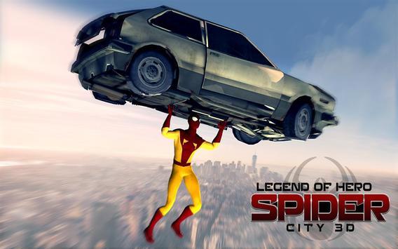 Legend of  3D Hero City - Hero City Fighter poster