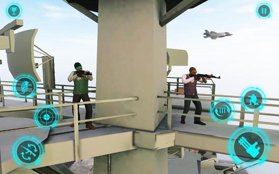 Superhero Navy Warship Battle - Hero Shooting screenshot 1