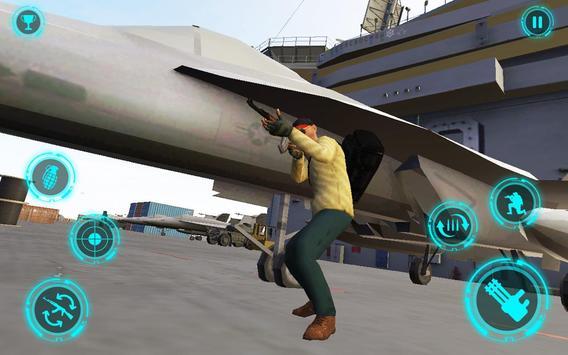 Superhero Navy Warship Battle - Hero Shooting screenshot 3