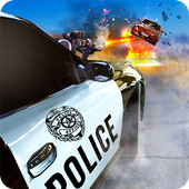 Police Shooting Chase Offroad icon