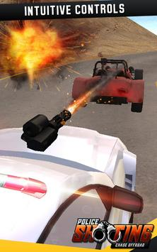 Police Shooting Chase Offroad screenshot 11