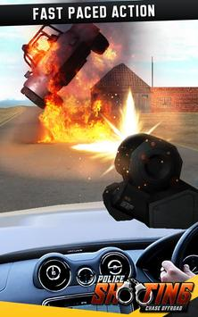 Police Shooting Chase Offroad screenshot 2