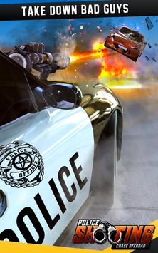 Police Shooting Chase Offroad screenshot 4