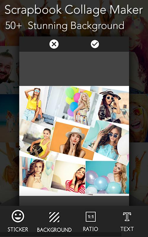 Photo Collage Scrapbook Mirror Shape Maker For Android Apk