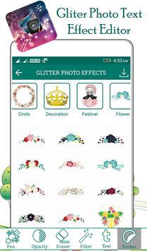 Glitter Photo Text Effect screenshot 5