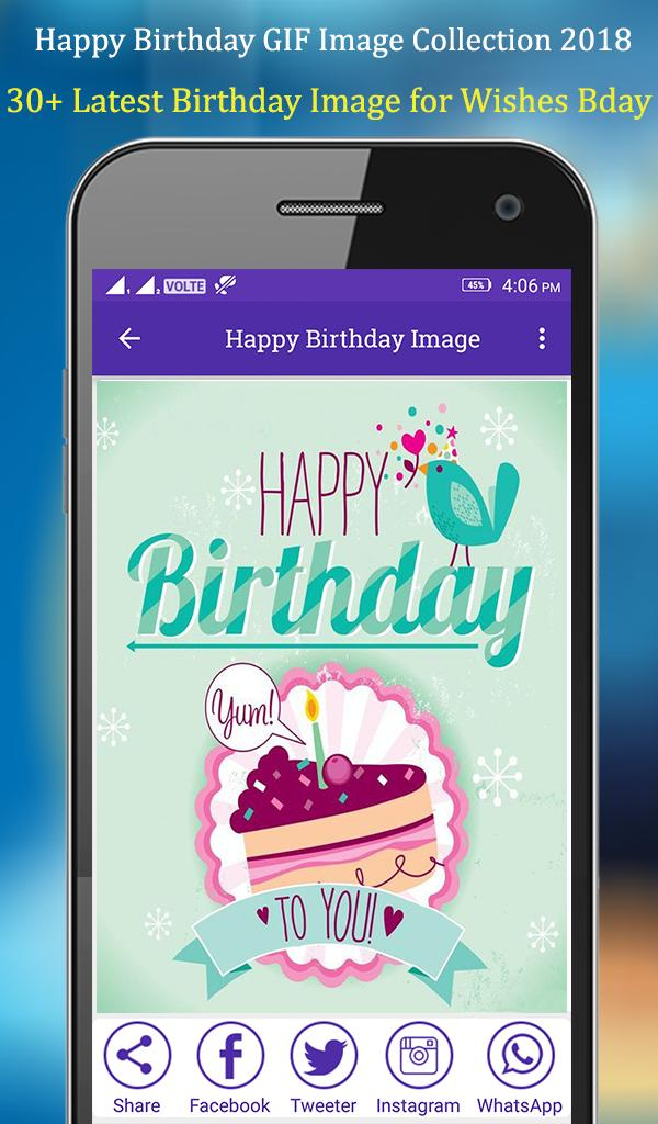 Happy Birthday Gif Image Collection For Android Apk Download