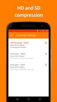 Video Compressor by Sunshine screenshot 2