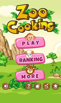 Zoo Cooking Master poster