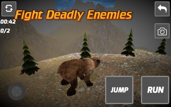 3D Wild Bear Simulator apk screenshot
