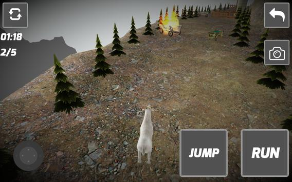 Free Goat Simulator 2016 apk screenshot