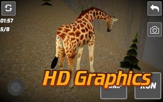 Giraffe Adventure Simulator poster