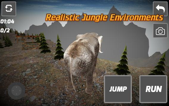 Elephant Sim 3D apk screenshot