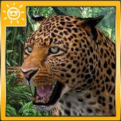 Leopard Attack Simulator icon