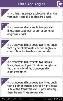 Class IX Maths Theorem screenshot 10