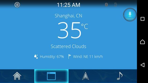 SmartMirror screenshot 2