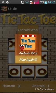 Tic Tac Toe Free screenshot 1