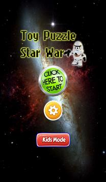 Toy Puzzle star war poster